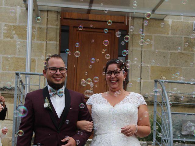 Le mariage de Benoit et Noémie à Haux, Gironde 17
