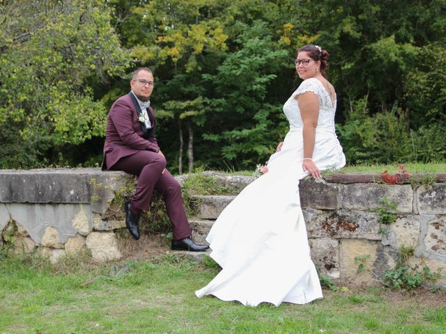 Le mariage de Benoit et Noémie à Haux, Gironde 25