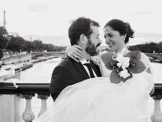 Le mariage de Sanam et Jean