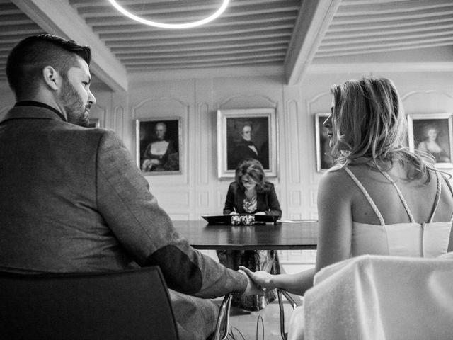 Le mariage de David et Sandra à Paris, Paris 7