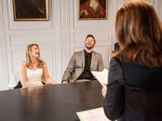 Le mariage de David et Sandra à Paris, Paris 8