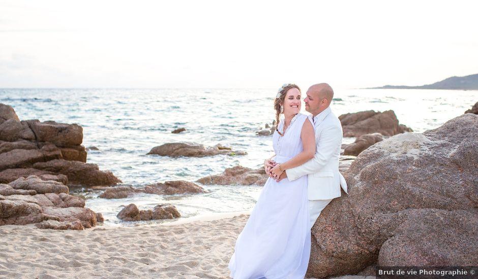 Le mariage de Andreas et Cécile à Sartène, Corse