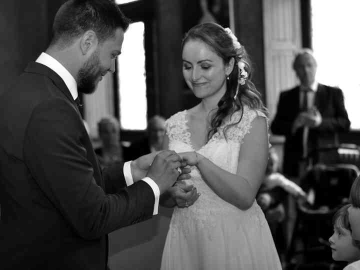 Le mariage de Margot  et David