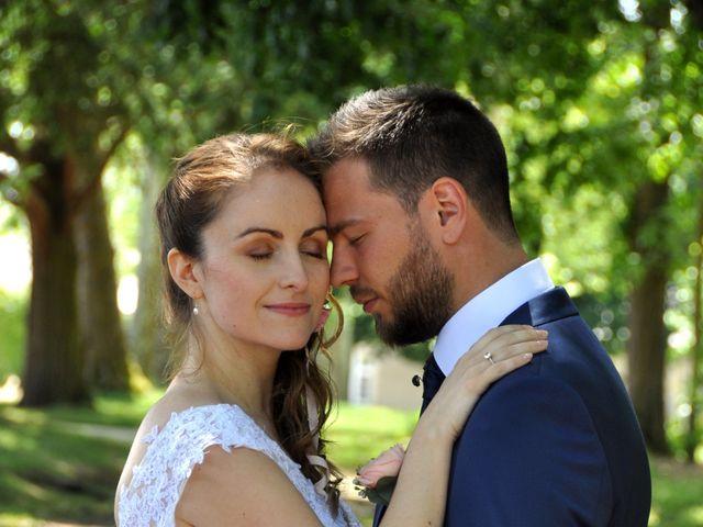 Le mariage de David  et Margot  à Aubigny-sur-Nère, Cher 1
