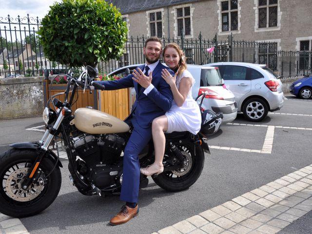 Le mariage de David  et Margot  à Aubigny-sur-Nère, Cher 15