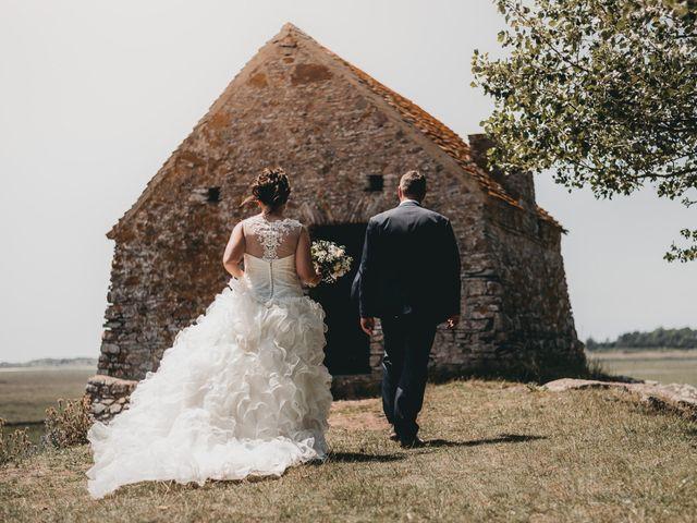 Le mariage de Fred et Amélie à Créances, Manche 43
