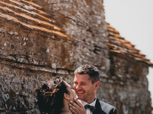 Le mariage de Fred et Amélie à Créances, Manche 44
