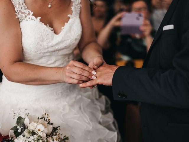Le mariage de Fred et Amélie à Créances, Manche 53