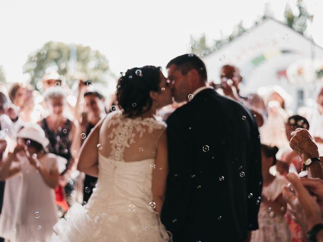 Le mariage de Fred et Amélie à Créances, Manche 57