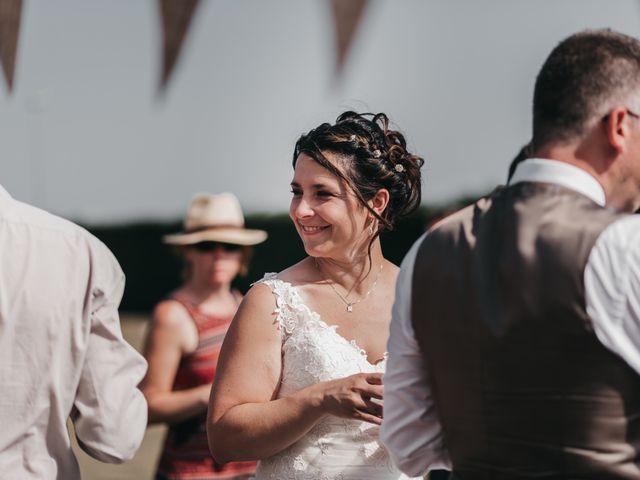 Le mariage de Fred et Amélie à Créances, Manche 83
