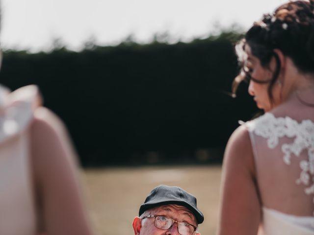 Le mariage de Fred et Amélie à Créances, Manche 88