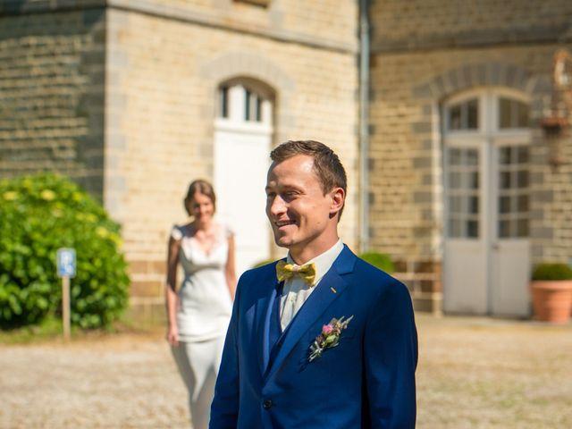 Le mariage de Florian et Amélie à Antrain, Ille et Vilaine 9