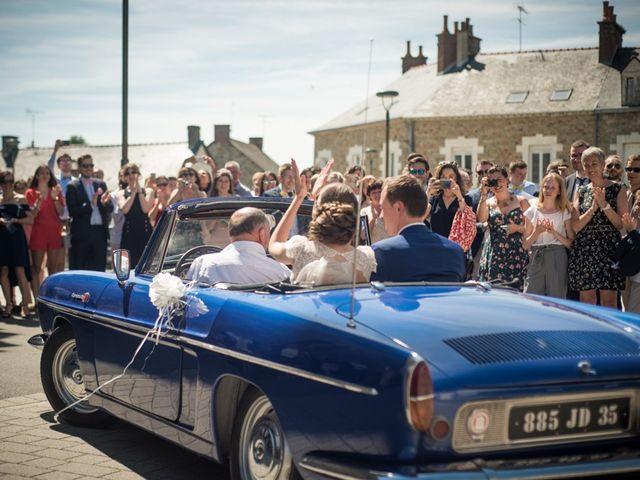 Le mariage de Florian et Amélie à Antrain, Ille et Vilaine 31