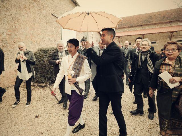 Le mariage de Khomdeth et Fleur à La Chapelle-Moutils, Seine-et-Marne 42