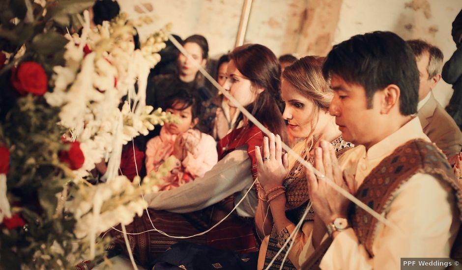 Le mariage de Khomdeth et Fleur à La Chapelle-Moutils, Seine-et-Marne