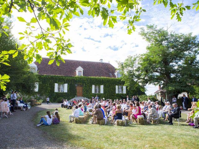 Le mariage de Pierre et Anne-Cécile à Bazolles, Nièvre 13
