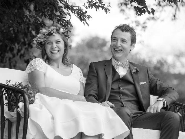 Le mariage de Pierre et Anne-Cécile à Bazolles, Nièvre 14