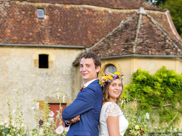 Le mariage de Pierre et Anne-Cécile à Bazolles, Nièvre 20