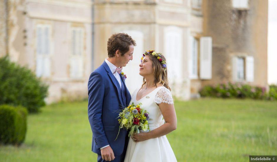 Le mariage de Pierre et Anne-Cécile à Bazolles, Nièvre