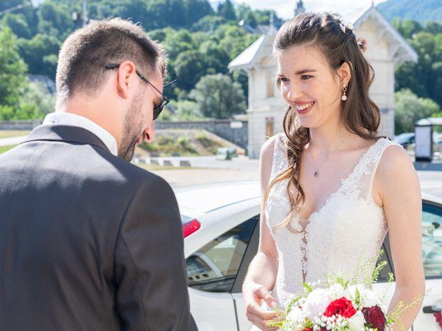 Le mariage de Raphaël et Claire à Crest-Voland, Savoie 8