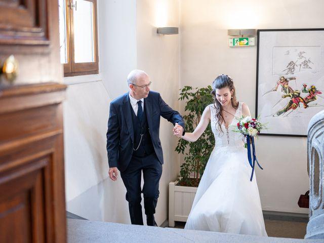 Le mariage de Raphaël et Claire à Crest-Voland, Savoie 10
