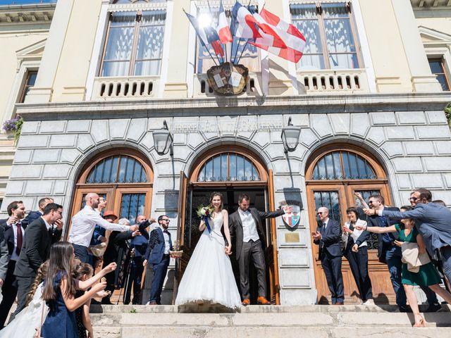 Le mariage de Raphaël et Claire à Crest-Voland, Savoie 13