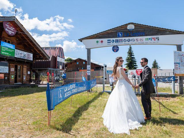 Le mariage de Raphaël et Claire à Crest-Voland, Savoie 14
