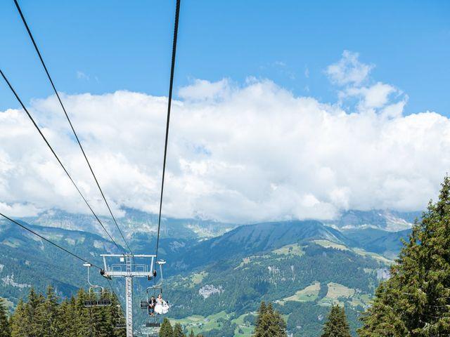 Le mariage de Raphaël et Claire à Crest-Voland, Savoie 17