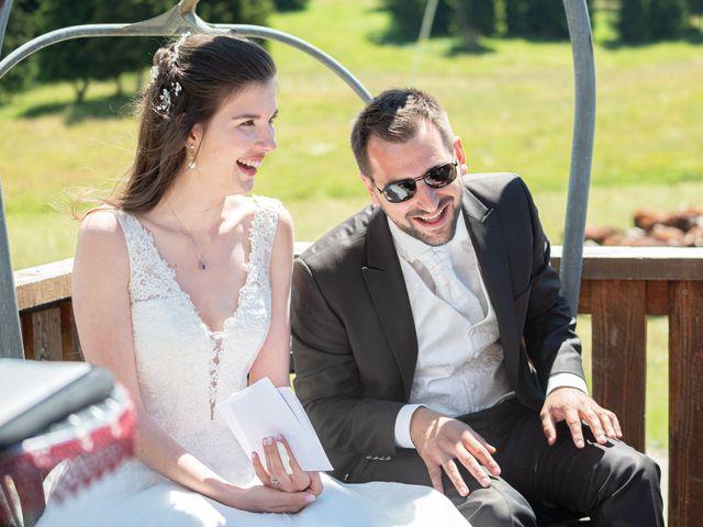 Le mariage de Raphaël et Claire à Crest-Voland, Savoie 23