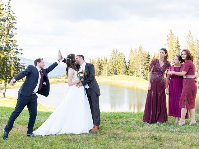 Le mariage de Raphaël et Claire à Crest-Voland, Savoie 40