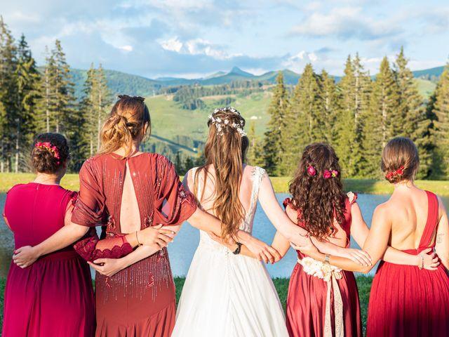 Le mariage de Raphaël et Claire à Crest-Voland, Savoie 49