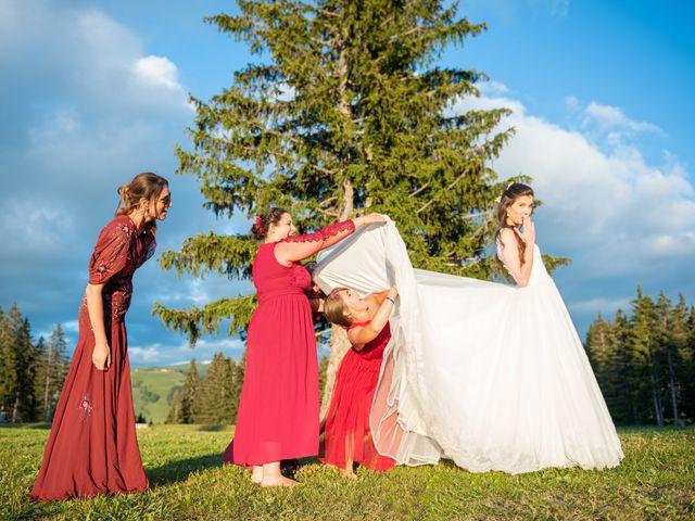 Le mariage de Raphaël et Claire à Crest-Voland, Savoie 51