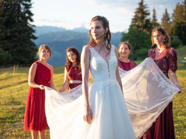 Le mariage de Raphaël et Claire à Crest-Voland, Savoie 52