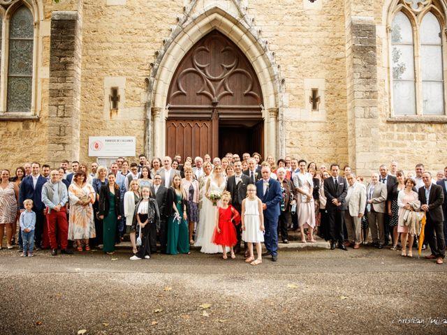 Le mariage de Alexandra et Thibault   à Millery, Rhône 40