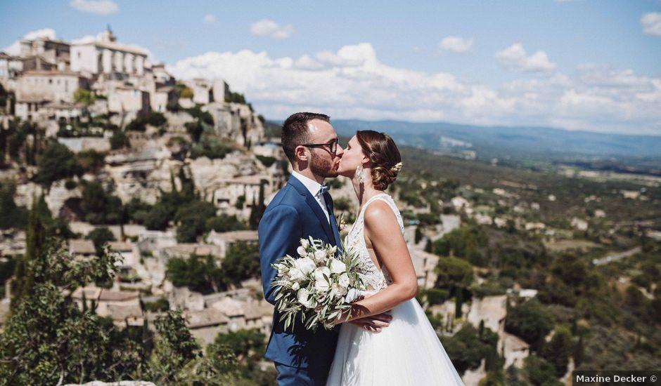 Le mariage de Benjamin et Charlotte à Robion, Vaucluse