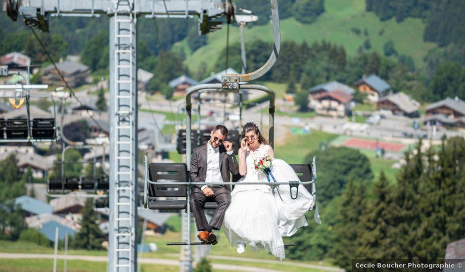 Le mariage de Raphaël et Claire à Crest-Voland, Savoie