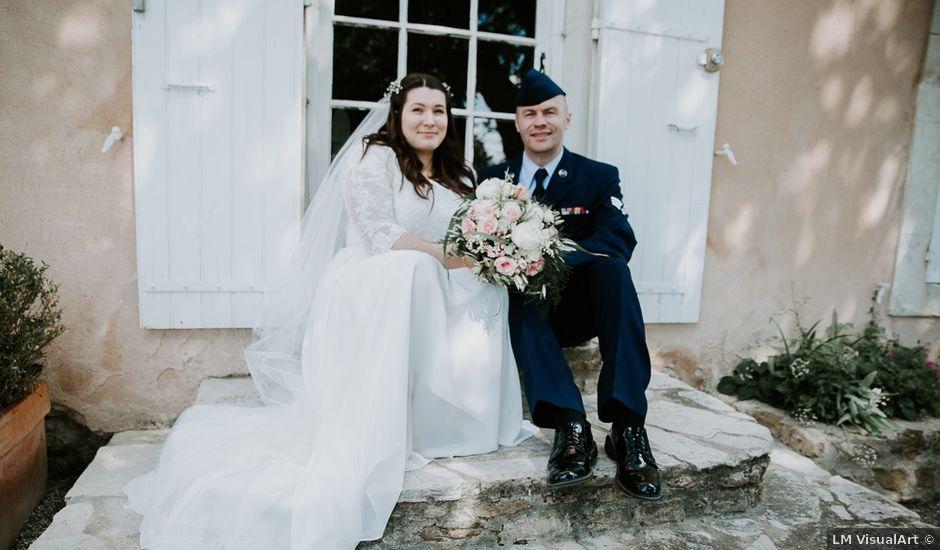 Le mariage de Joshua et Géraldine à Piolenc, Vaucluse