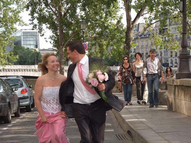 Le mariage de Cyril et Katia à Paris, Paris 19