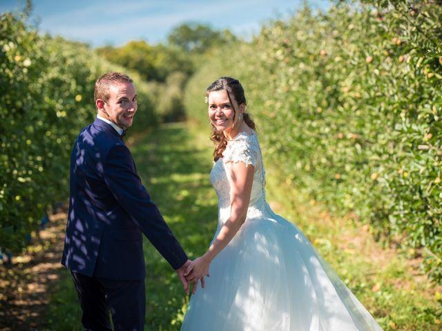 Le mariage de Damien et Fanny à La Couyère, Ille et Vilaine 2