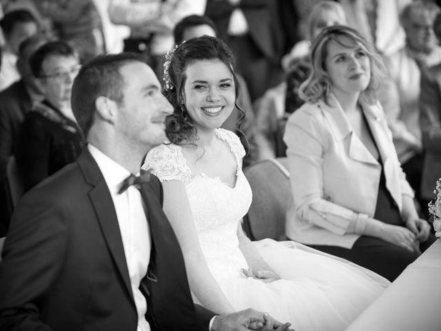 Le mariage de Damien et Fanny à La Couyère, Ille et Vilaine 35