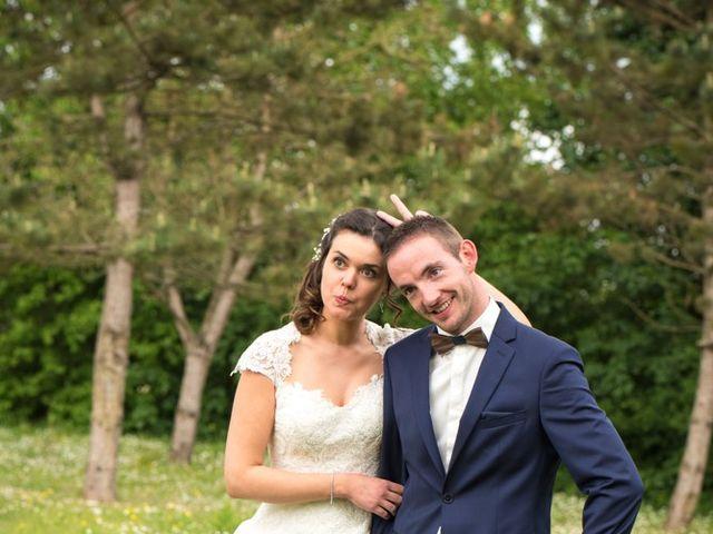 Le mariage de Damien et Fanny à La Couyère, Ille et Vilaine 62