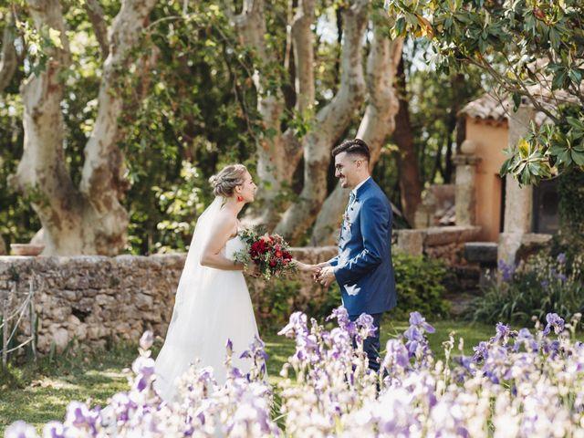 Le mariage de Jean-Albert et Agathe à Pertuis, Vaucluse 92