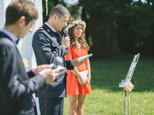 Le mariage de Raphael et Melina à Santeny, Val-de-Marne 23