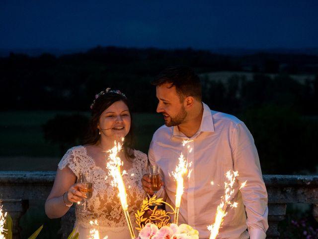 Le mariage de Jonathan et Lena à Castelnaudary, Aude 80
