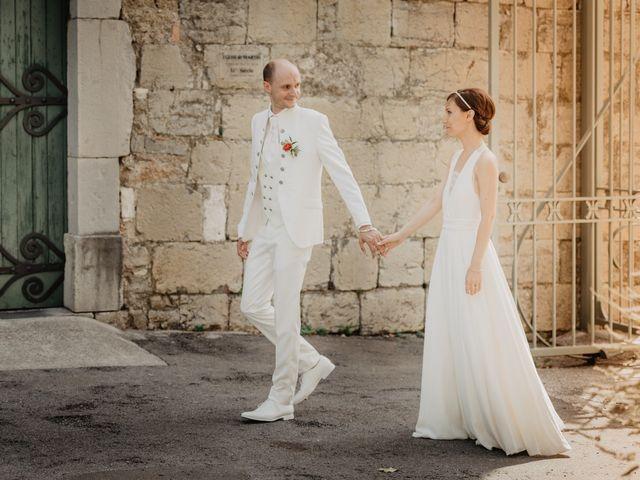 Le mariage de Brice et Caroline à Saint-Martin-de-Valgalgues, Gard 1