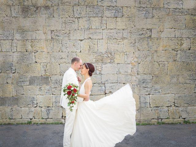 Le mariage de Brice et Caroline à Saint-Martin-de-Valgalgues, Gard 5