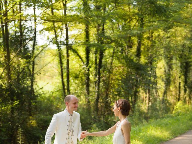Le mariage de Brice et Caroline à Saint-Martin-de-Valgalgues, Gard 8
