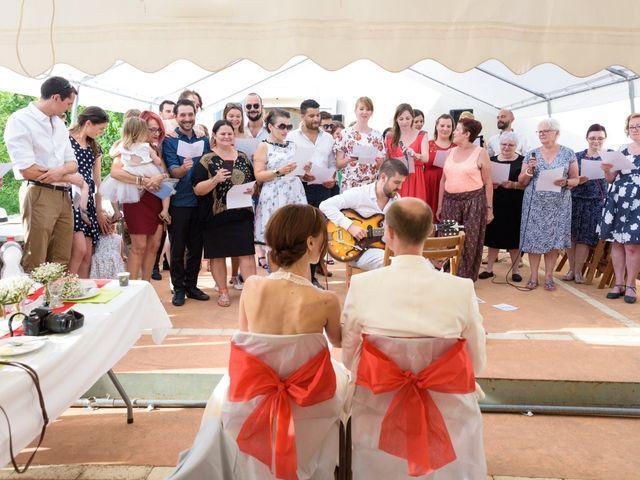 Le mariage de Brice et Caroline à Saint-Martin-de-Valgalgues, Gard 25