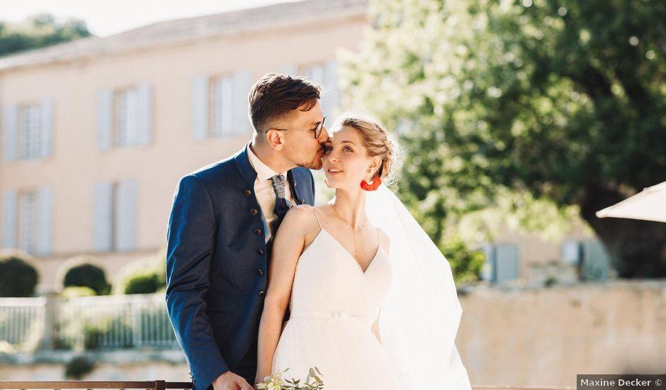 Le mariage de Jean-Albert et Agathe à Pertuis, Vaucluse