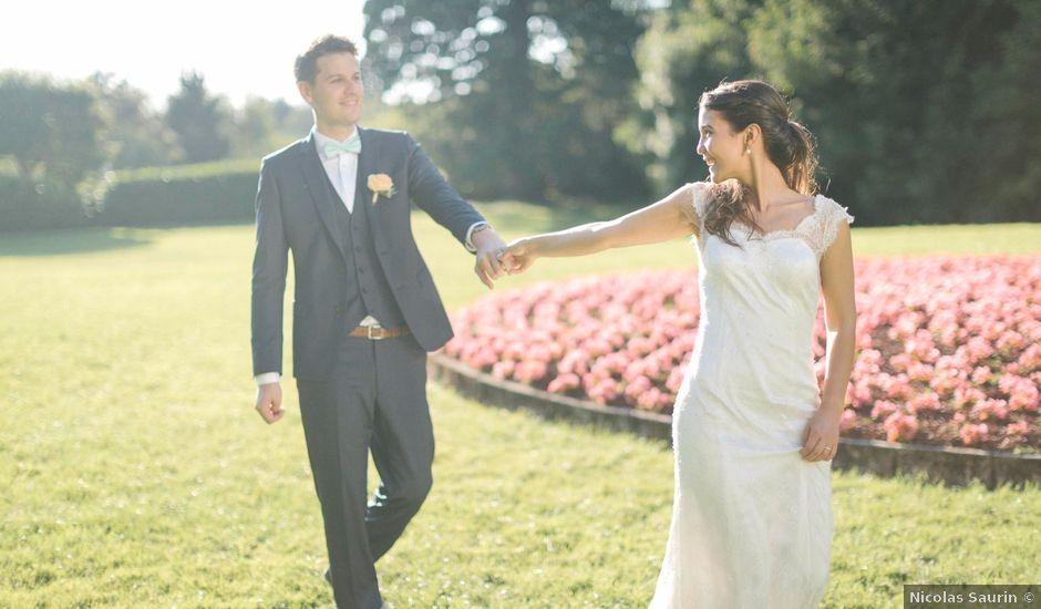 Le mariage de Raphael et Melina à Santeny, Val-de-Marne